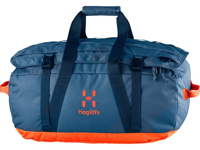Haglöfs Cargo 40 Duffel Bag Blue Ink/Sunset
